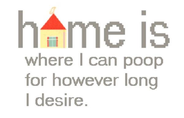 Poop at Home