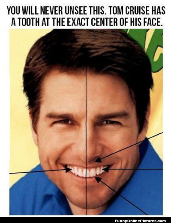 Tom Cruise Tooth