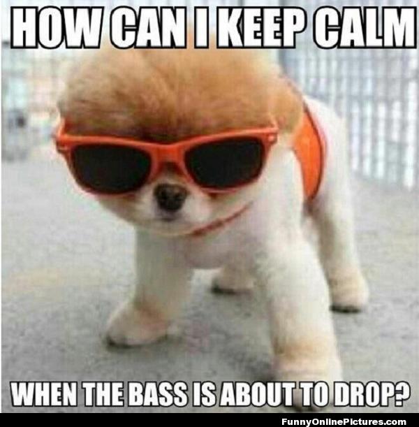 How can I keep calm