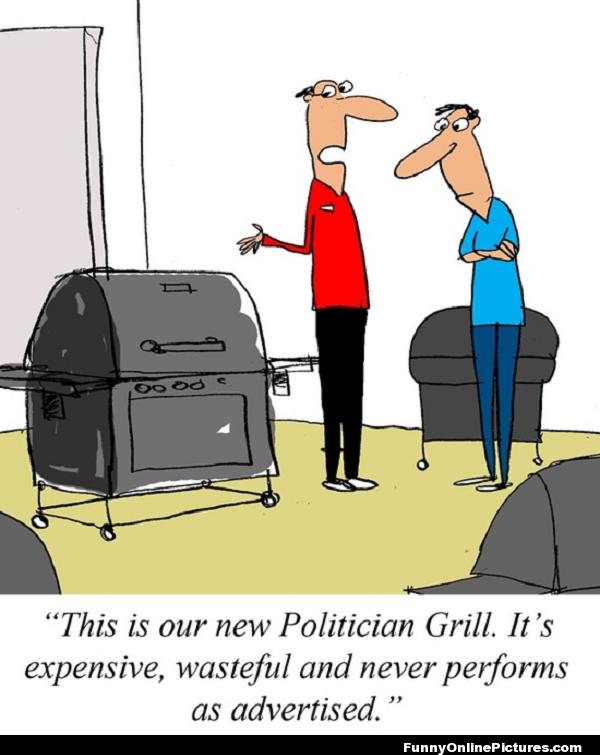 politician grill