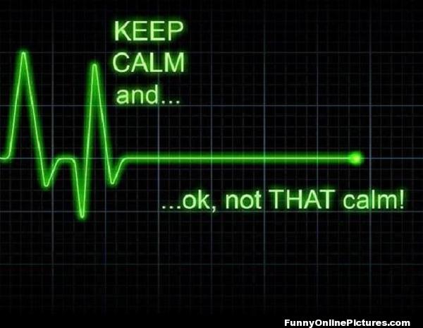 Not That Calm