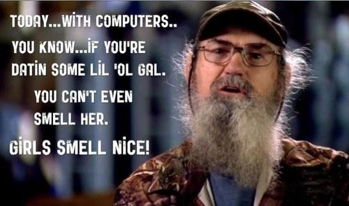 girls smell nice