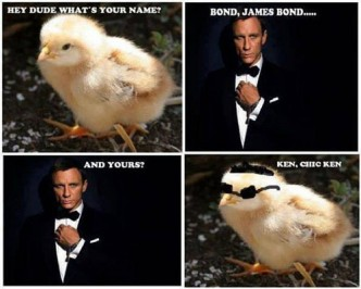 James Bond Meme